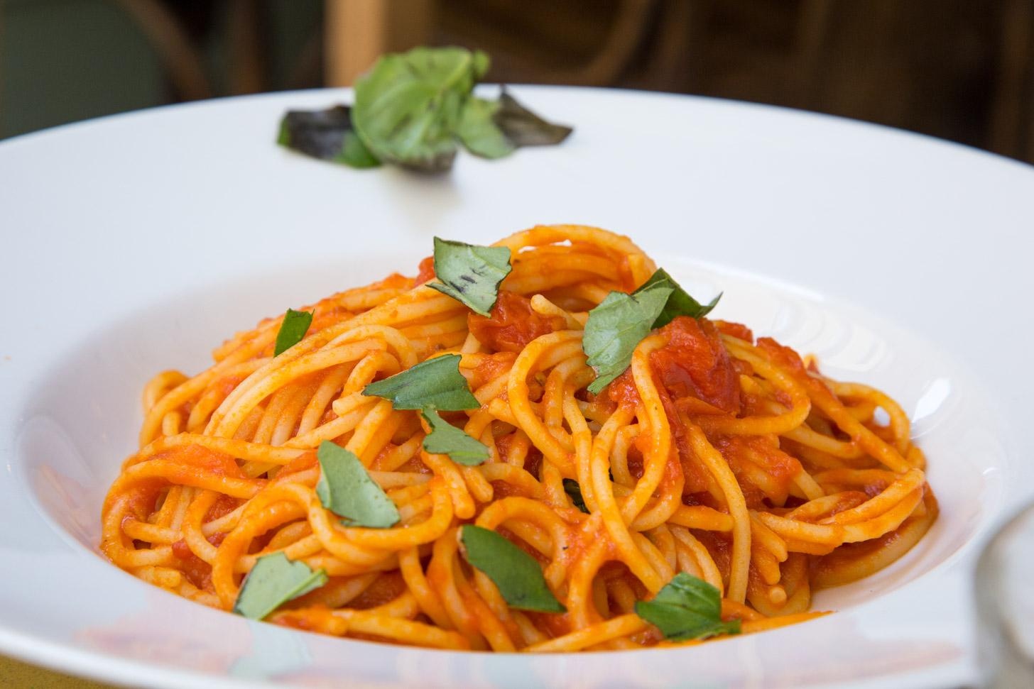 Overal in Rome kun je een goed bord pasta kopen.