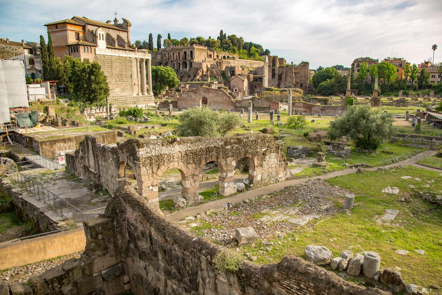 Overblijfselen van Rome