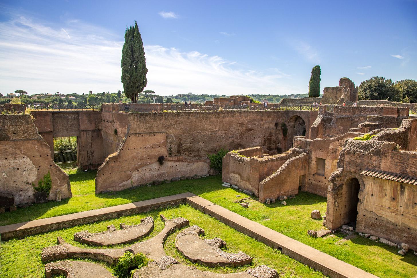 De Palatijnse heuvel