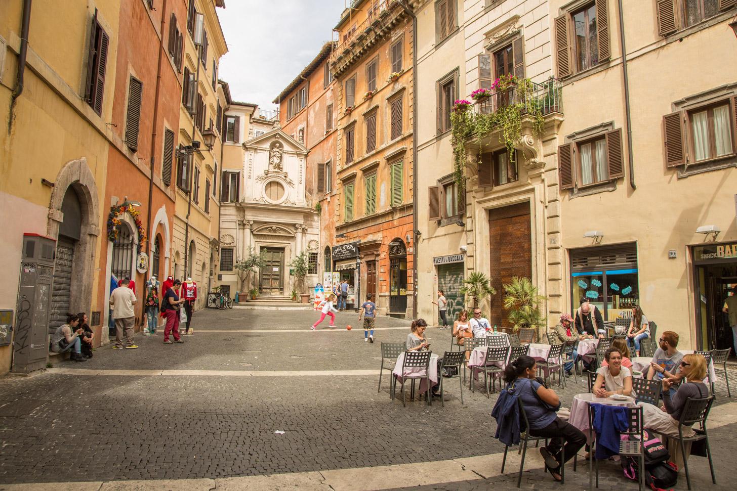 Het hedendaagse Rome