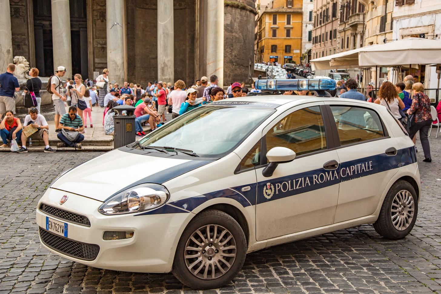 Veiligheid in Rome
